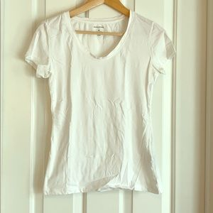 Banana republic white tee